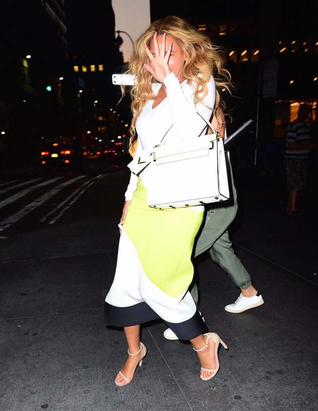 Beyonce Candids