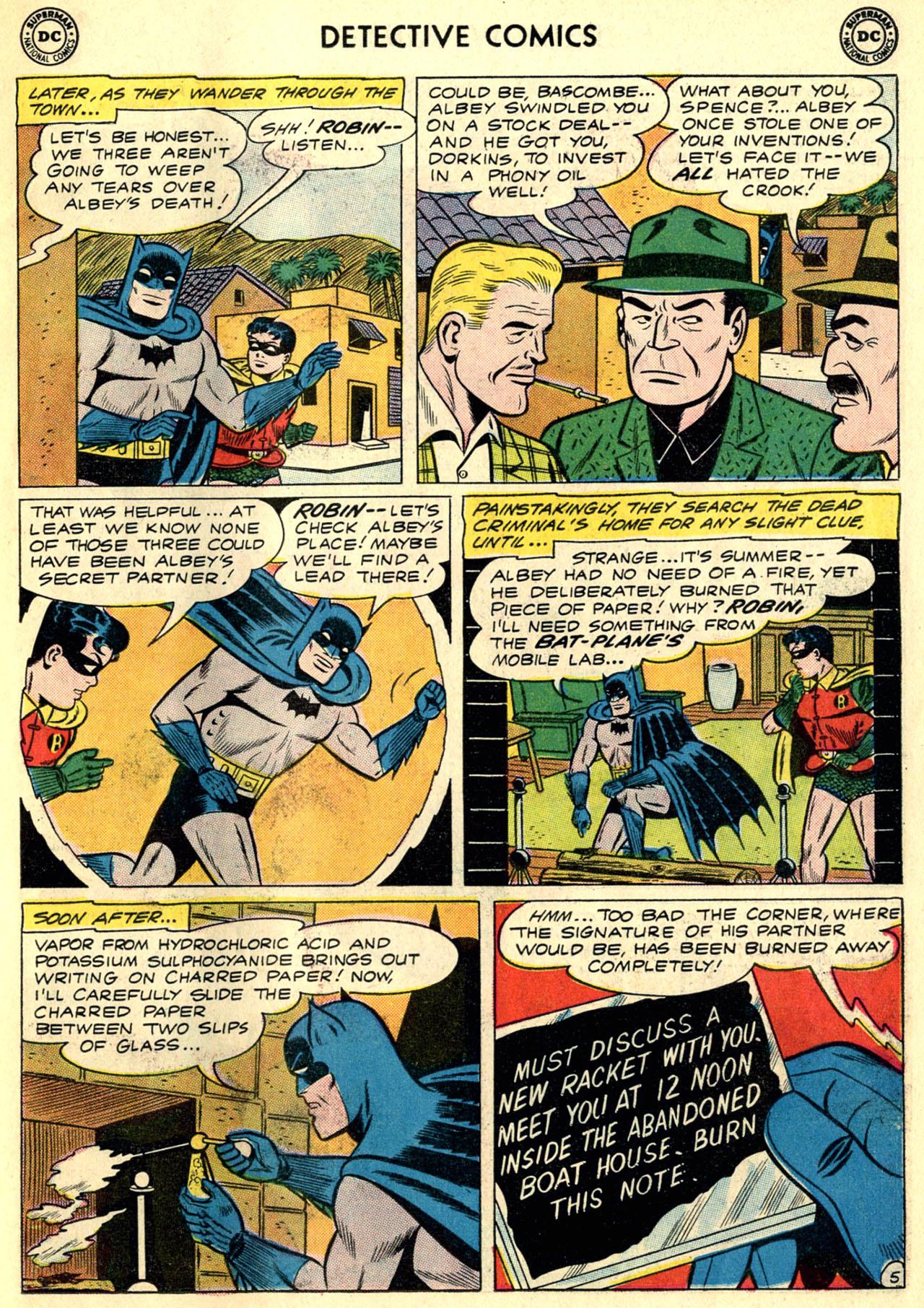 Detective Comics (1937) 297 Page 6