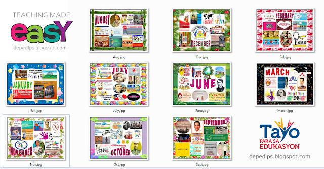 Monthly events celebrations bulletin boards deped lps monthly events celebrations bulletin boards altavistaventures Choice Image