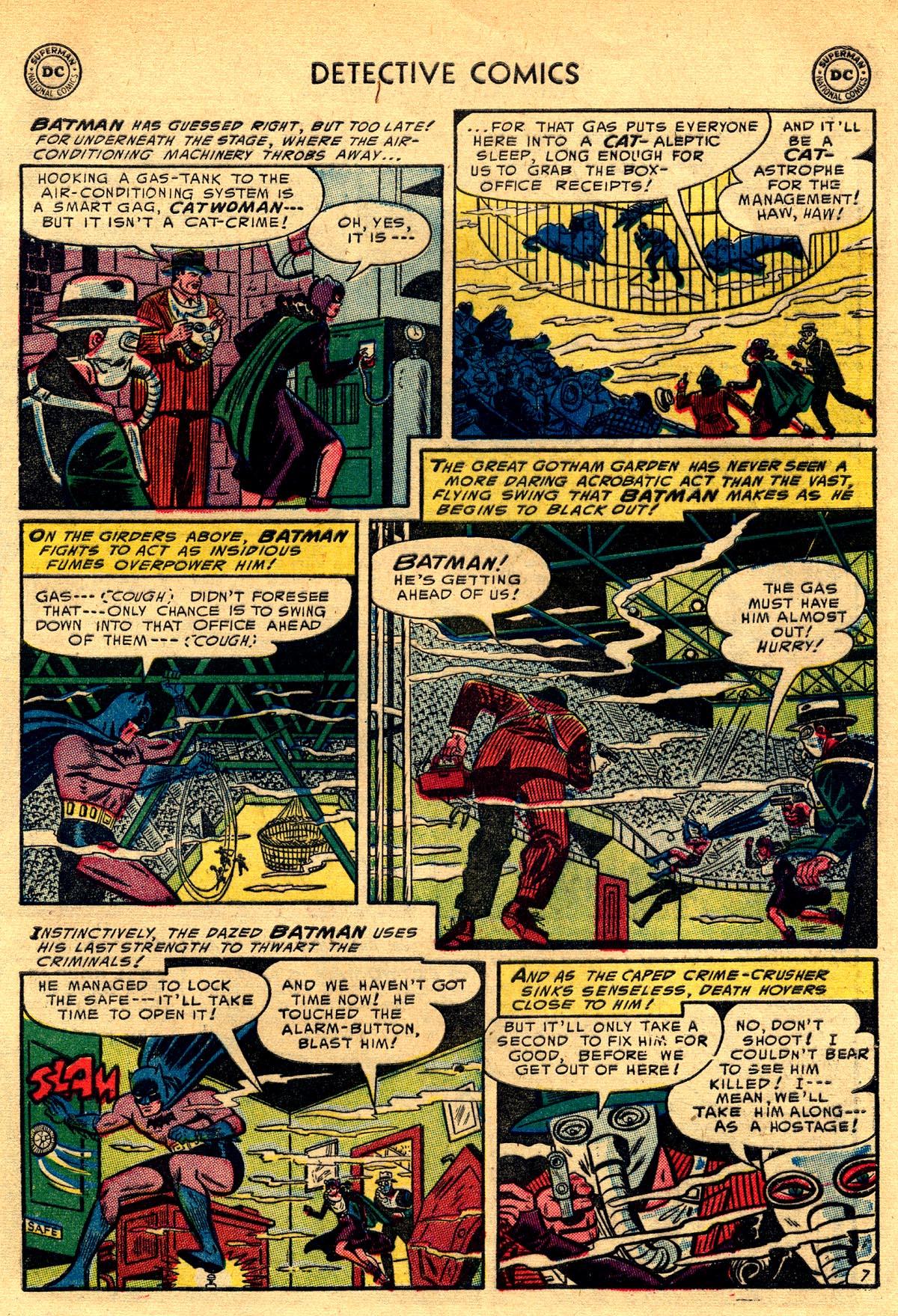 Read online Detective Comics (1937) comic -  Issue #203 - 9