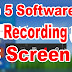 TOP 5 SOFTWARES FOR RECORDING PC SCREEN