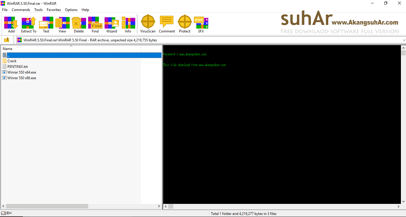 Free Download Winrar Final Full Version Terbaru, Winrar Final Full Activation Code