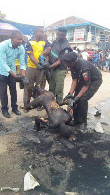 3 Photos: 3 killed as Hausa and Igbo Traders clash in Aba