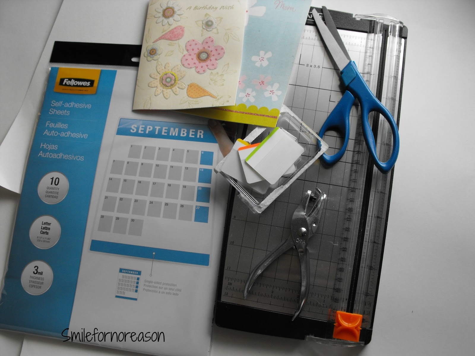 Smile For No Reason Greeting Card Dashboards For Your Spiral Bound