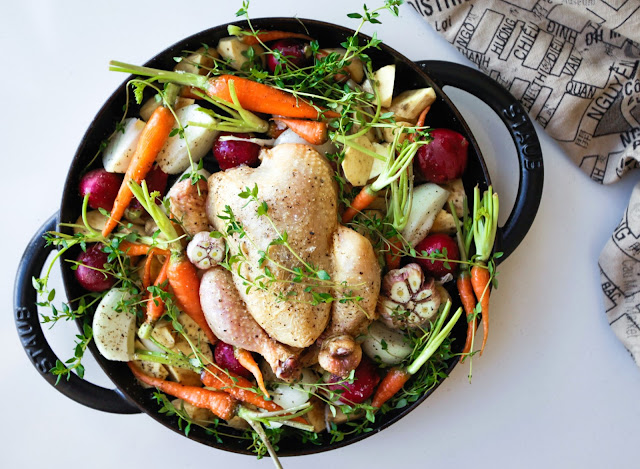 One Pan Roast Chicken