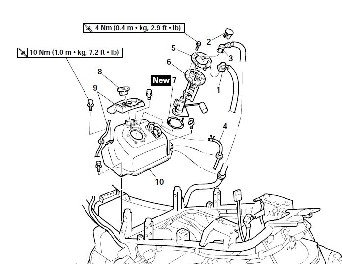7 3 Idi Engine Fuel Diagram