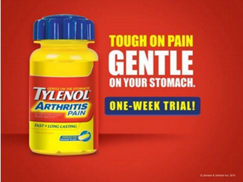Tylenol Arthritis Pain Free Trial Sample