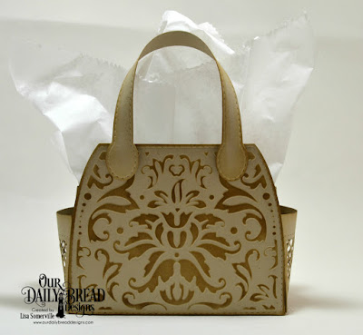 Our Daily Bread Designs Custom Dies: Timeless Tote, Timeless Tote Layers, Petite Pocketbook, Tote Embossed Inset