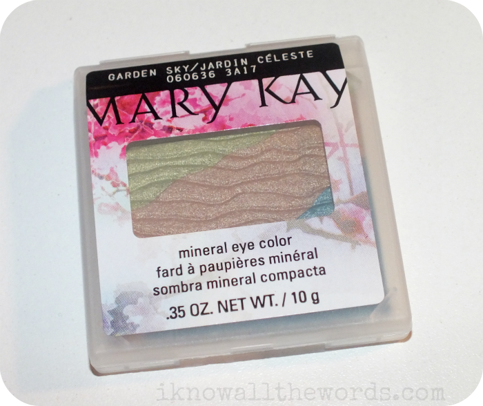 Compact Mini Mary Kay Mary Kay Zen In Bloom Collection Mineral Eye Colour In