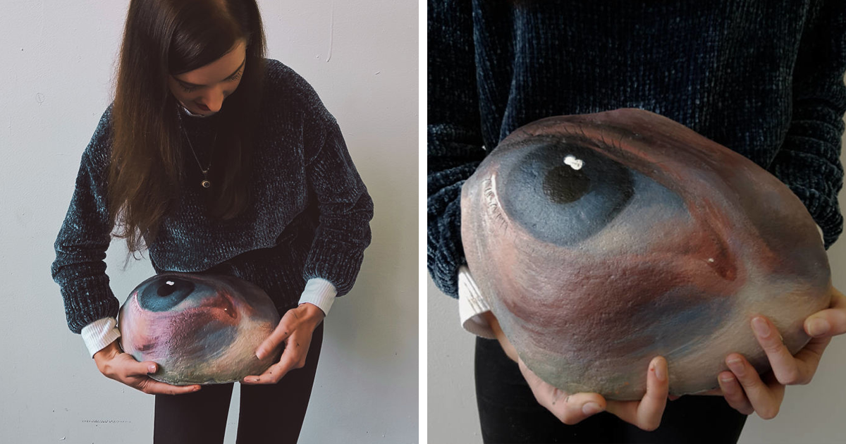 Artist Paints Eyes On Rocks And Takes Them Back To Nature To Be Found Or Lost Forever