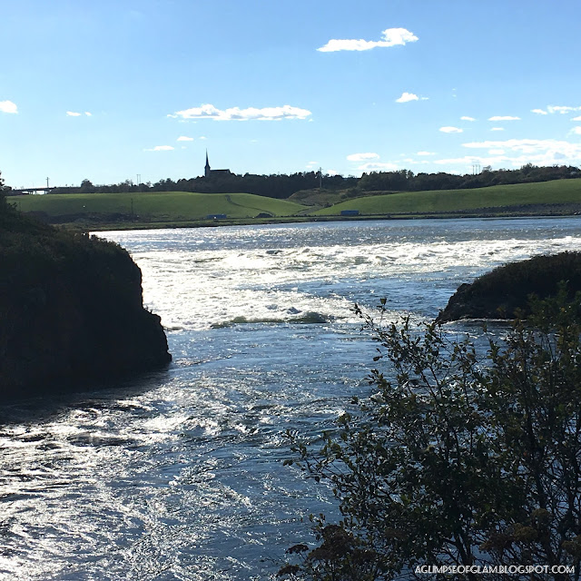 Reversing Falls later in day - Andrea Tiffany A Glimpse of Glam