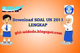 Download Soal UN SMP 2013 Lengkap 20 Paket Soal