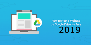 How To Host Your Website On Google For Free 2019
