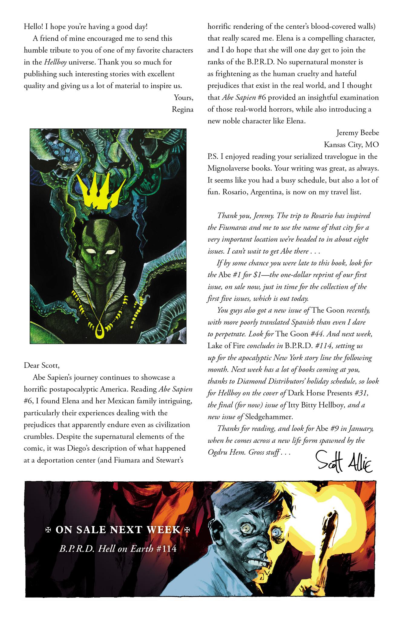 Read online Abe Sapien comic -  Issue #8 - 26