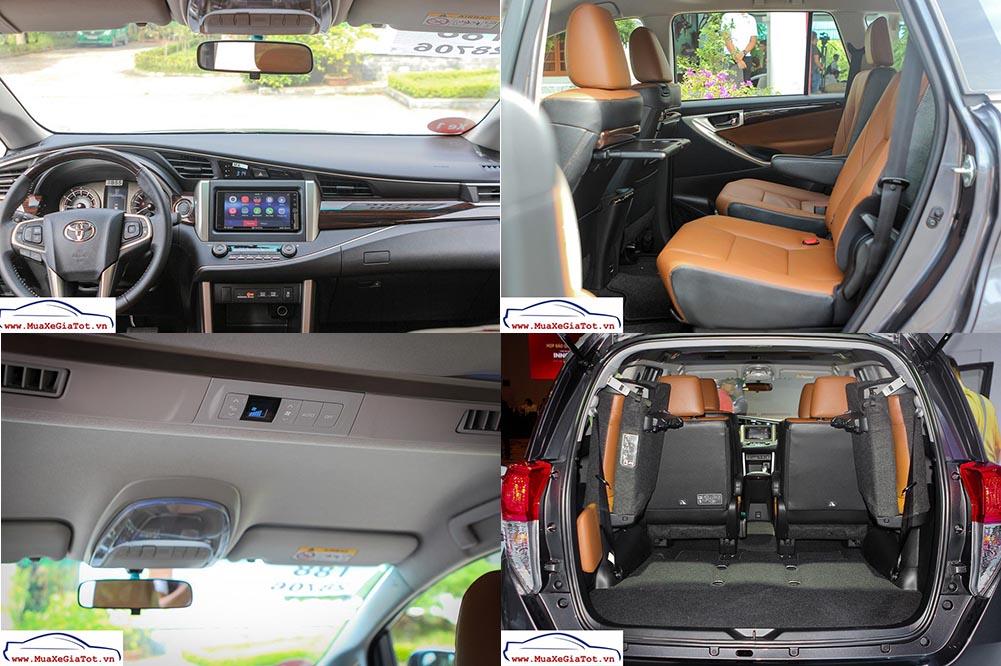 noi that xe toyota innova 2016 -  - So sánh Toyota Innova 2.0V và Honda CRV tại Việt Nam