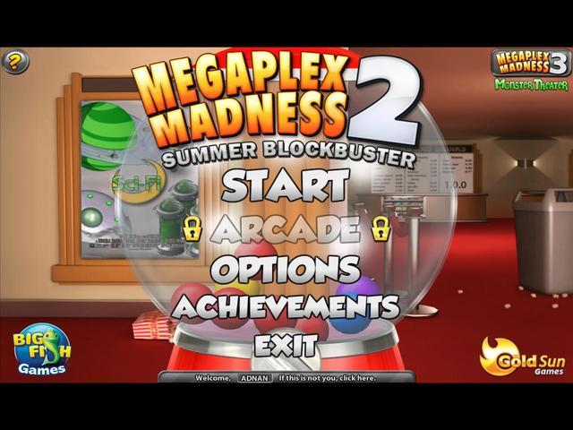 Megaplex Madness 2 Summer Blockbuster Free Downloads