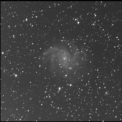 Fireworks galaxy with SN2017eaw