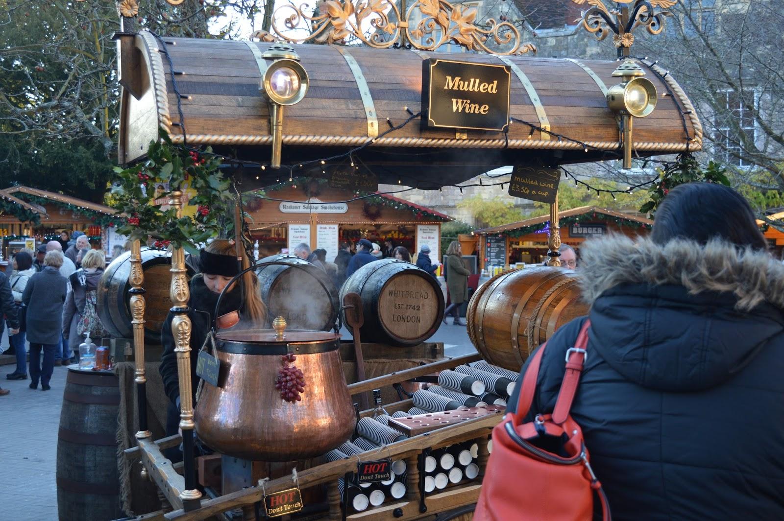 Winchester Christmas Market, Hampshire bloggers, lifestyle bloggers UK