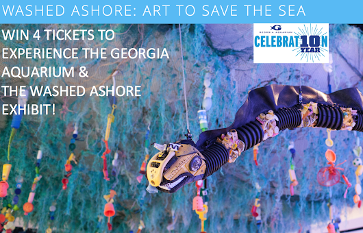 Washed Ashore: Georgia Aquarium's Newest Exhibit AND Giveaway!