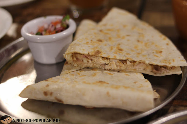 Chicken Onion Melt Quesadillas