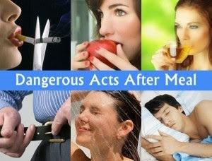 Mau Sehat? Jangan Lakukan 6 hal ini Setelah Makan