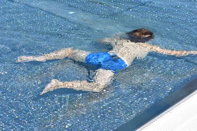 Schwimmkurs - sekundäres Ertrinken