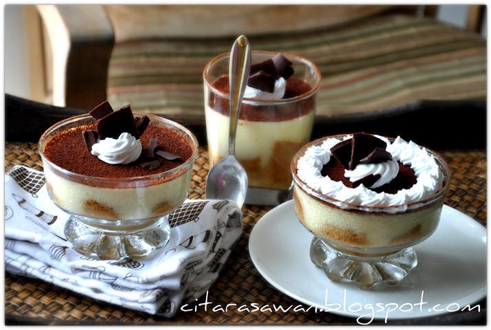 Resep Cake Tiramisu Jtt: Puding Tiramisu