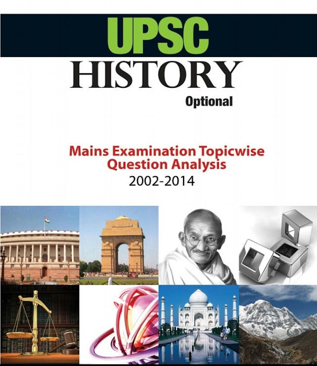 UPSC HISTORY OPTIONAL MAINS EXAMINATION PREVIOUS YEAR QUESTION PAPERS