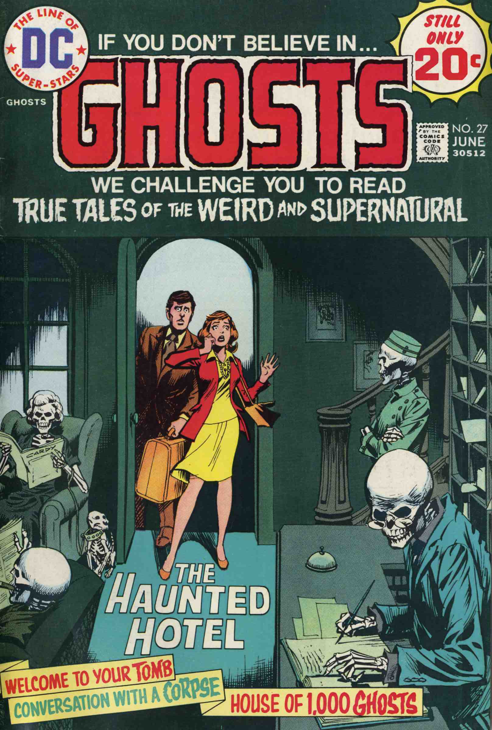 Read online Ghosts comic -  Issue #27 - 1