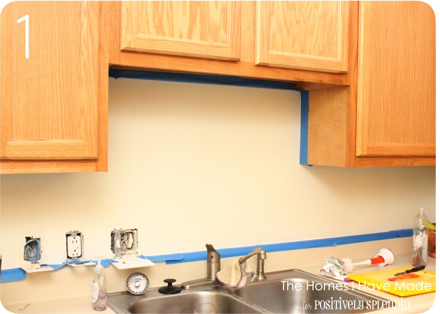paint walls brush roller cover area white painted brick kitchen backsplash transitional kitchen
