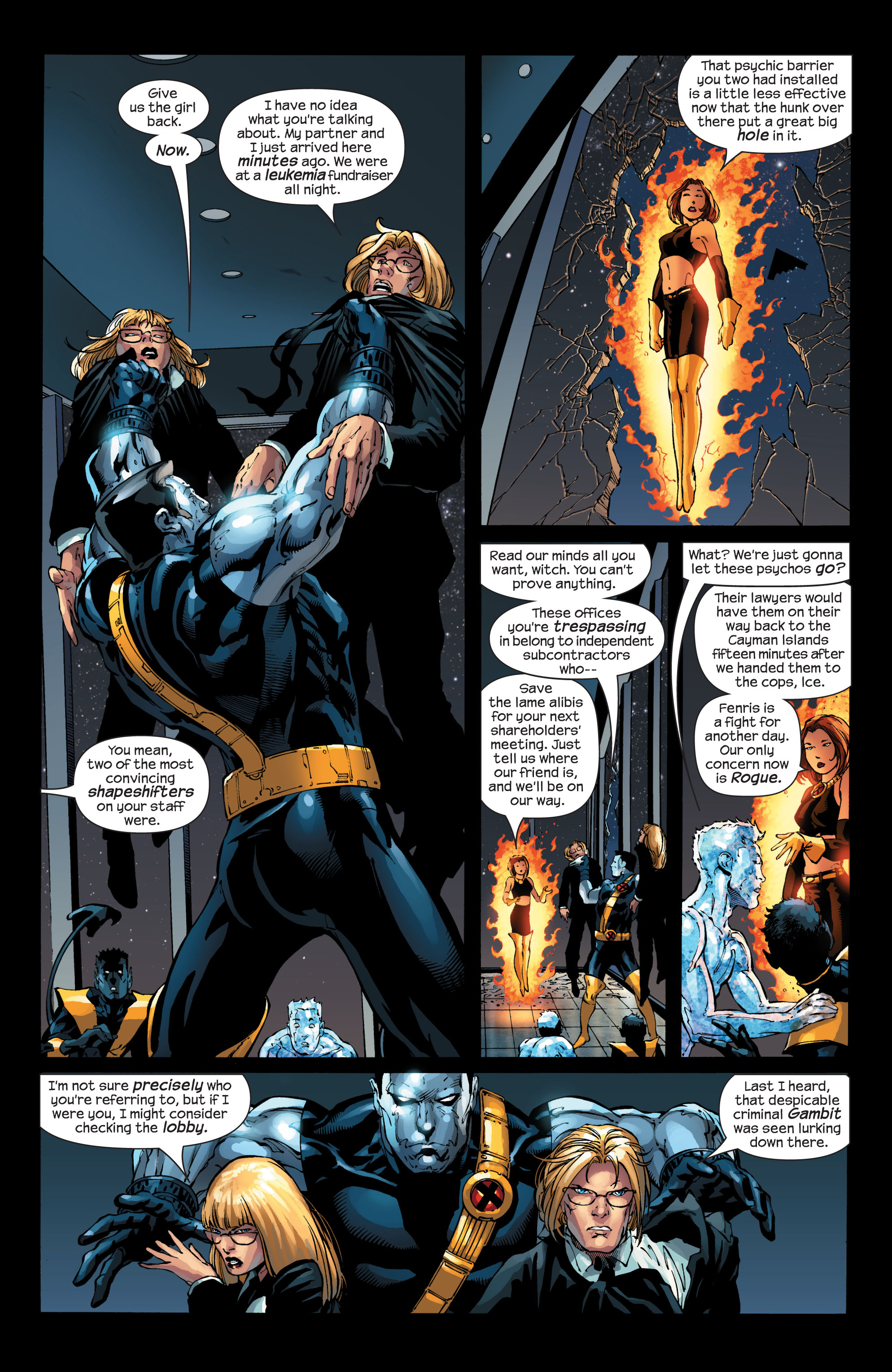 Read online Ultimate X-Men comic -  Issue #53 - 16