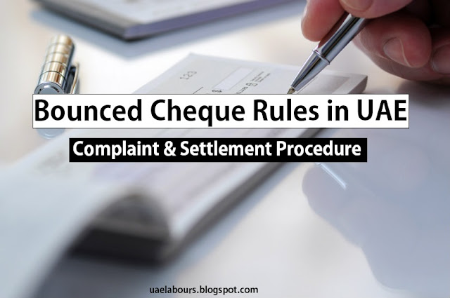 Cheque bounce, bounced check, cheque boince case in uae, bounced cheque writer