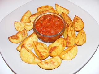 Cartofi cu sos picant retete culinare,