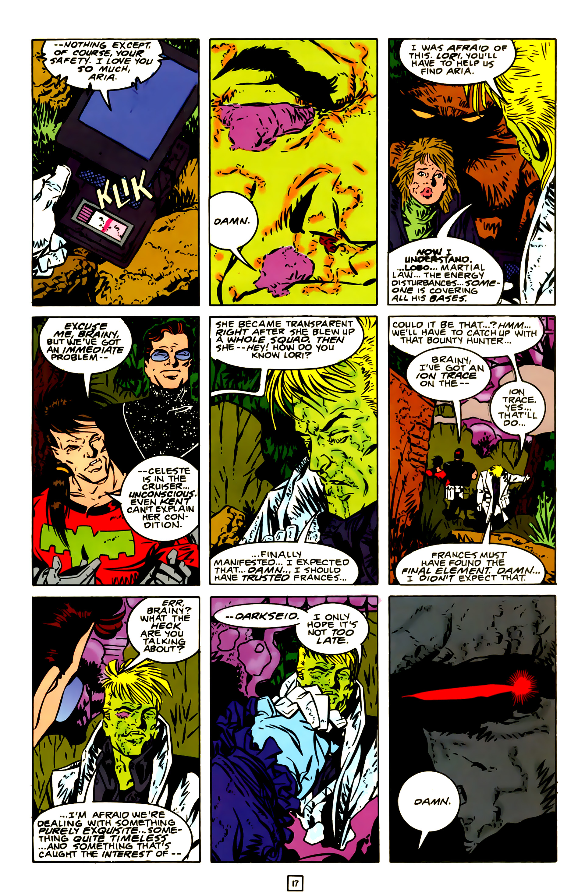 Legion of Super-Heroes (1989) 23 Page 17