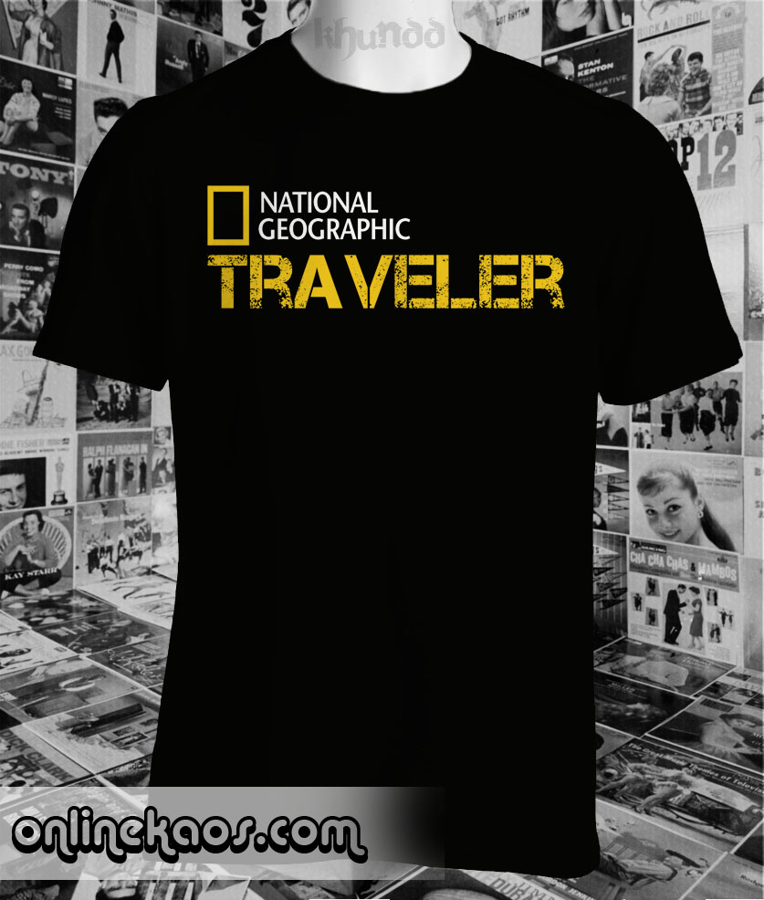 Traveler T Shirt Indonesian Adventure Shop National Geographic