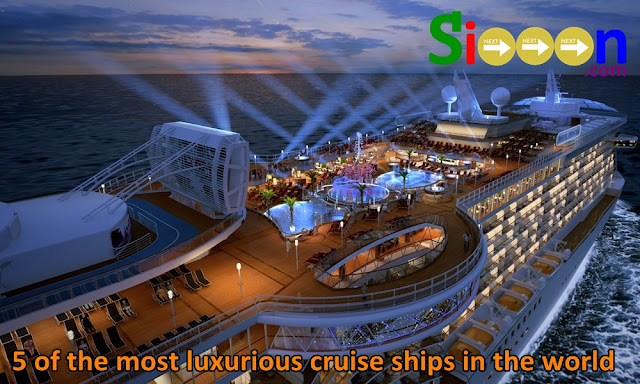 Most expensive cruise ship, the most luxurious cruise ship, the most sophisticated cruise ship in the world, the modern cruise ship in the world, the best cruise ship in the world Large luxury and elegant cruise ship, the best cruise ship in the world, the most beautiful cruise ship in the world.