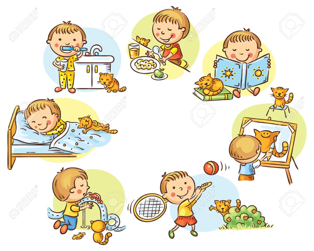 Contoh Teks Daily Activities Untuk Anak Smp Contoh Up