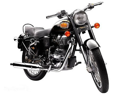 Royal Enfield Bullet 350 front view image