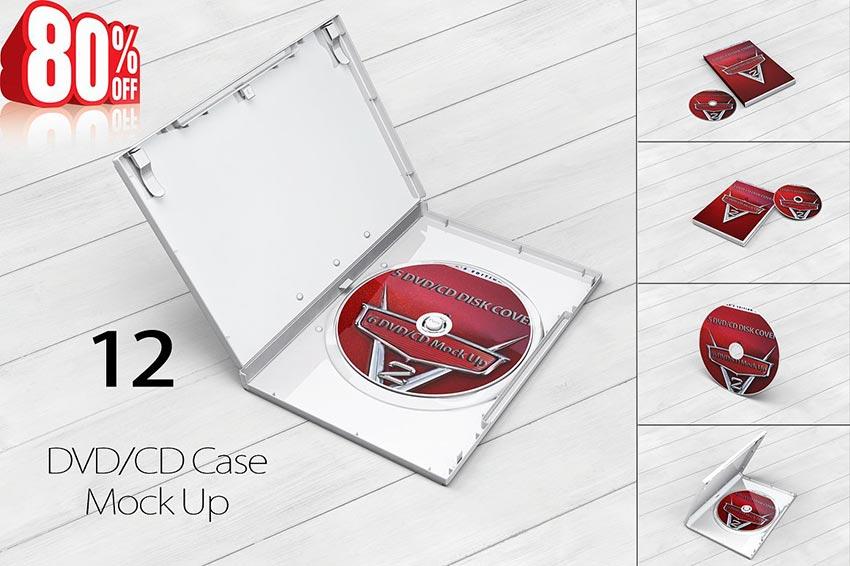 Bundle DVD/CD MockUp
