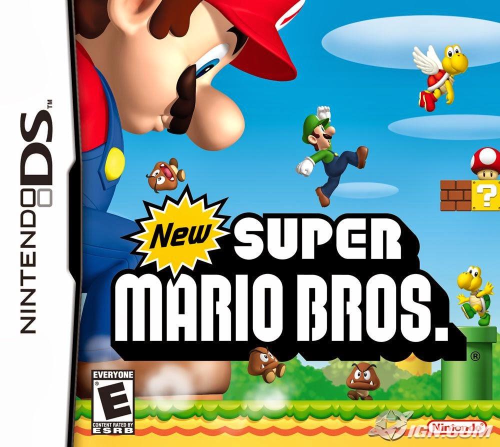Nuevo Super Mario Bros Espanol Nds Zs 4s Playstendo