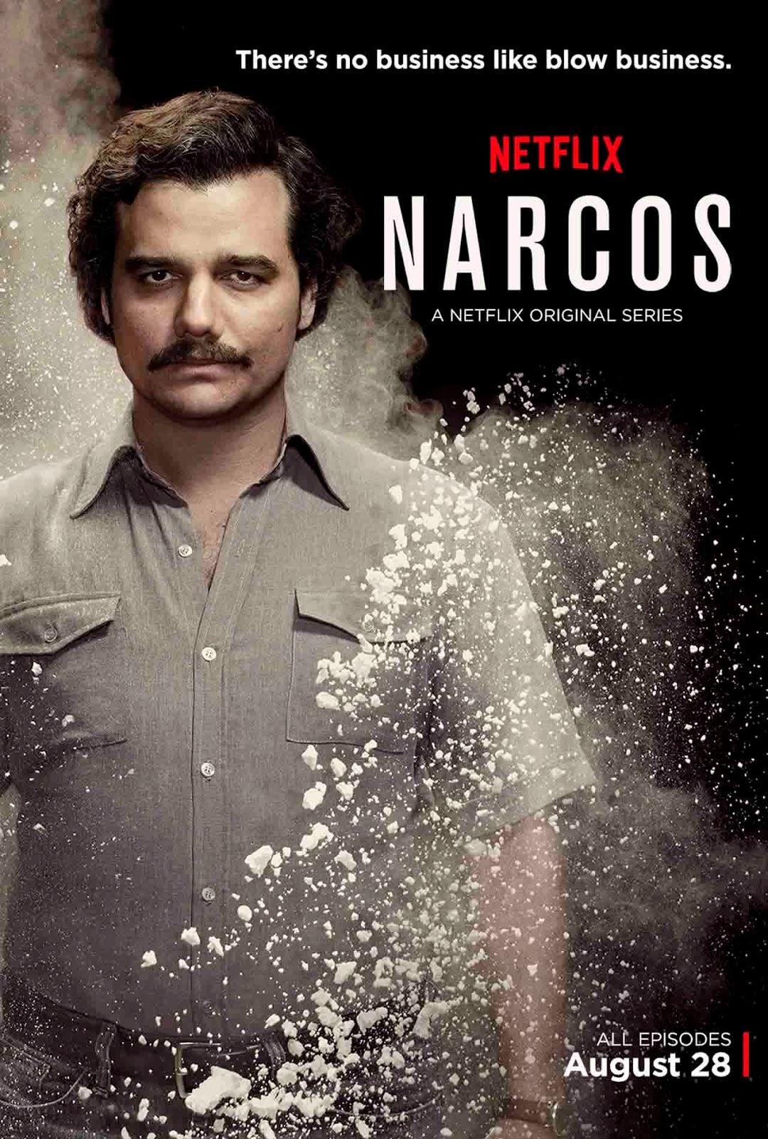 Narcos 1ª Temporada Torrent - BluRay 720p Dual Áudio (2015)