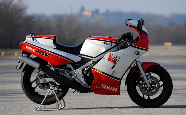 Yamaha RD500LC HD Images