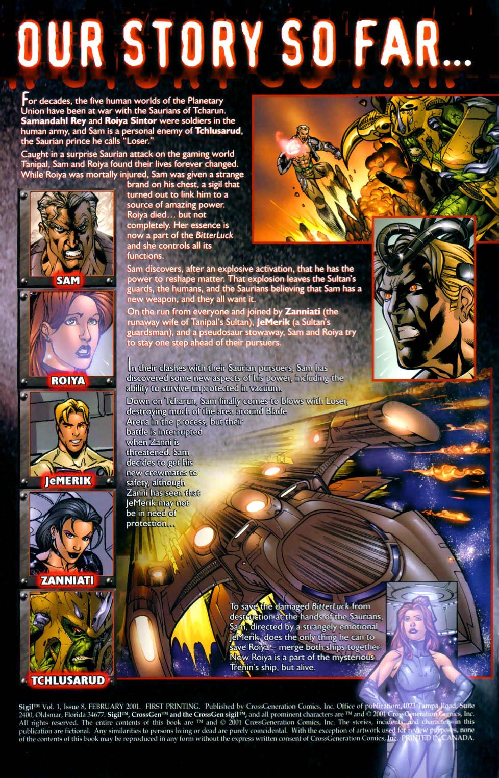 Read online Sigil (2000) comic -  Issue #8 - 2