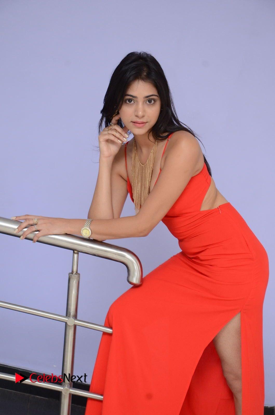 priyanka bharadwaj photos at mister 420 movie logo launch