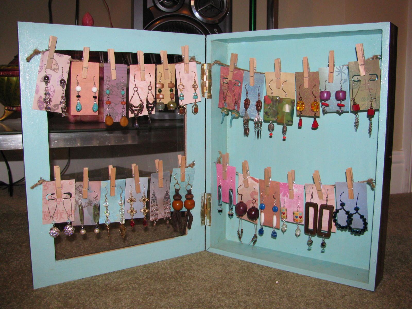 Art Bead Scene Blog: Shadow Box Earring Display Tutorial ...