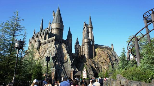 Parque do Harry Potter no Islands Of Adventure em Orlando