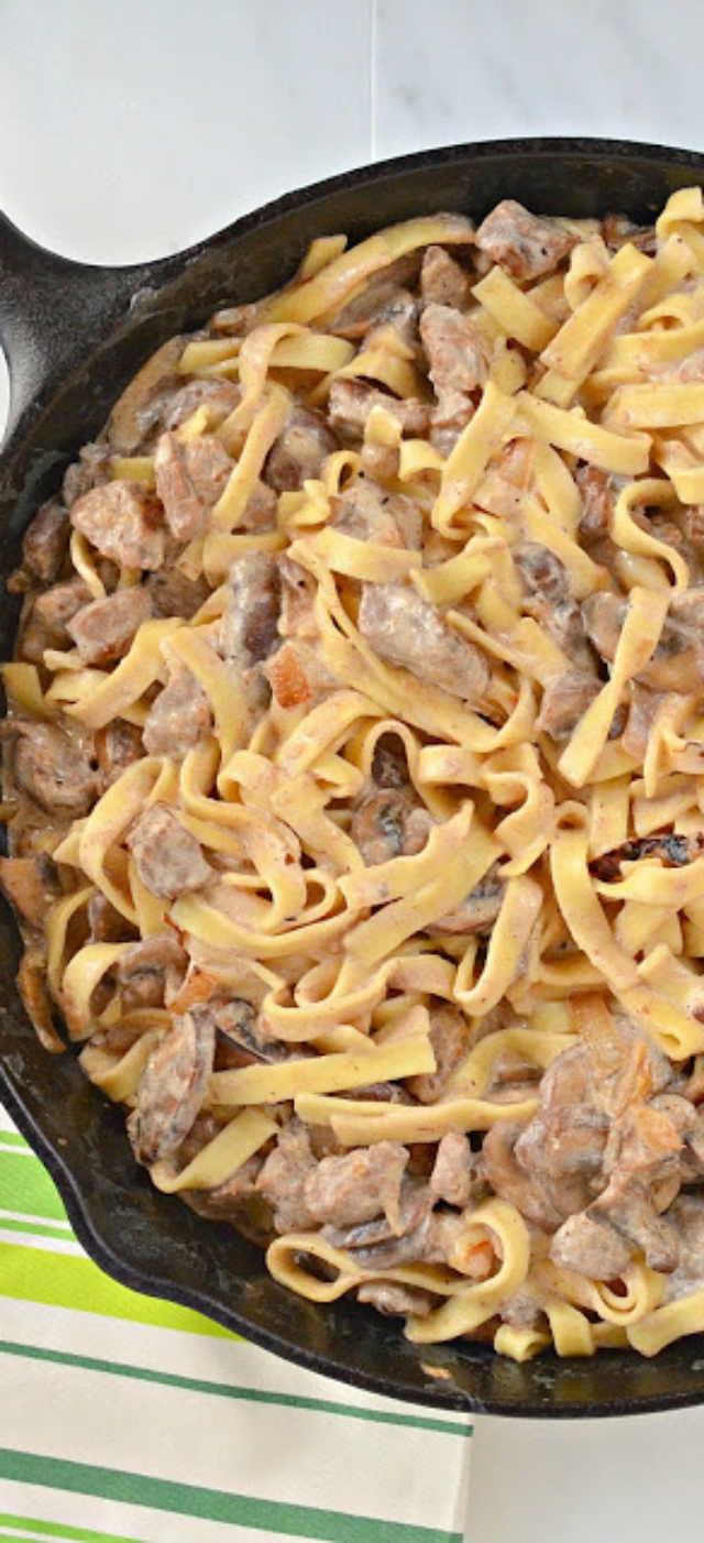 Top 10 Recipes of 2016 Beef Stroganoff.  serenabakessimplyfromscratch.com