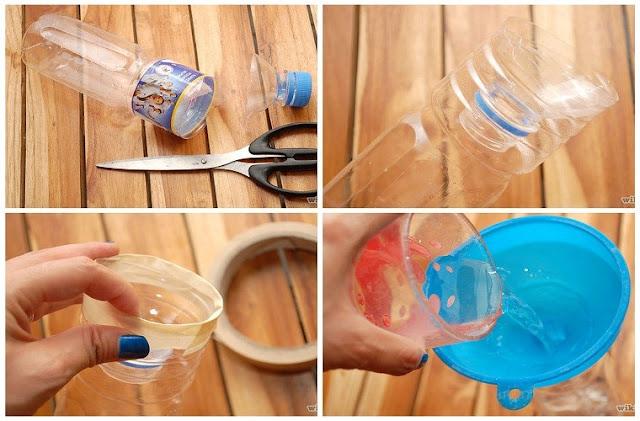 bây gián đơn giản bằng chai nhựa