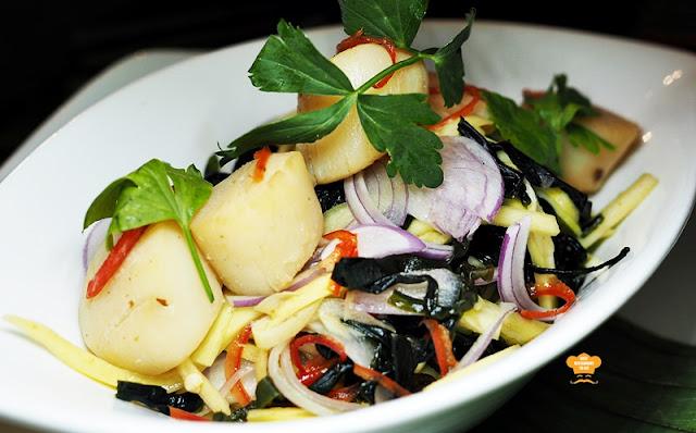 Southern Thai Food - Pak Tai - YUM SA RAI - Seaweed Salad