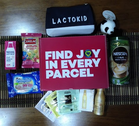 'PARCEL OF JOY' BY LAZADA MALAYSIA MADE MY DAY!